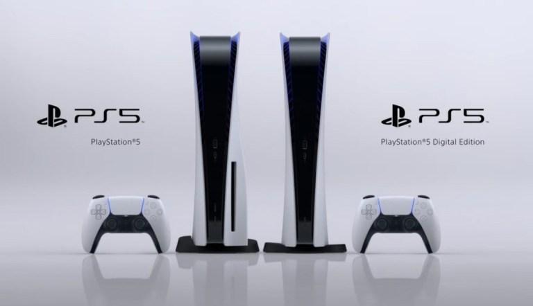 Atualização do PS5