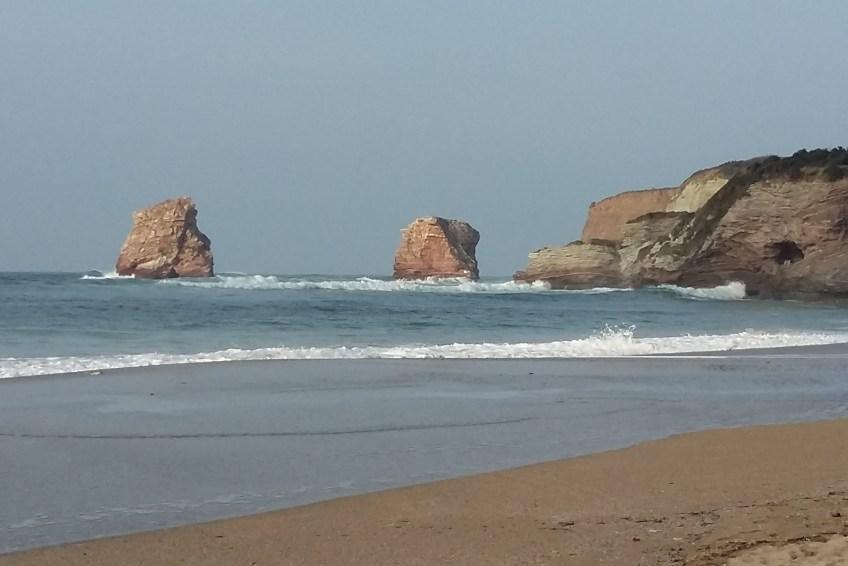 Playa en el suroeste de Francia.