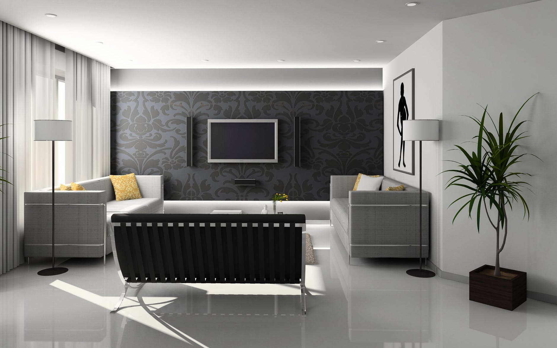 Galaxy Home Guide Creating The Perfect Accent Wall