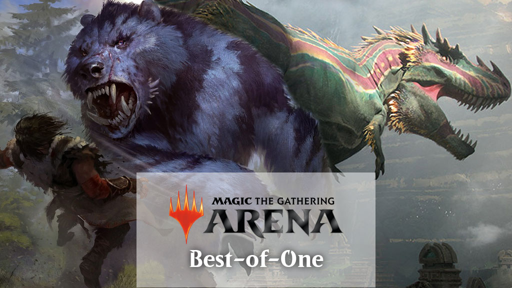 GR Stompy - MTG Arena Best-of-One Deck Tech - Galaxy Game TV
