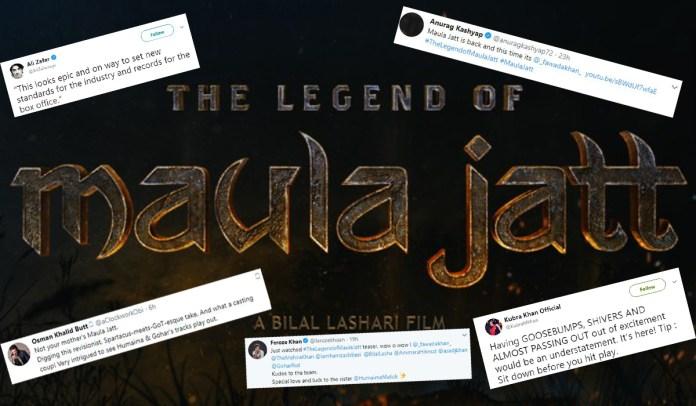 legend of Maula Jatt teaser twitter