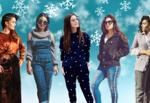 winter wardrobes female celebrities