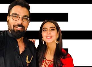 iqra aziz and yasir hussain