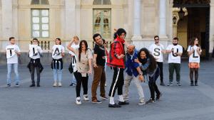 flashmob - the jacksons