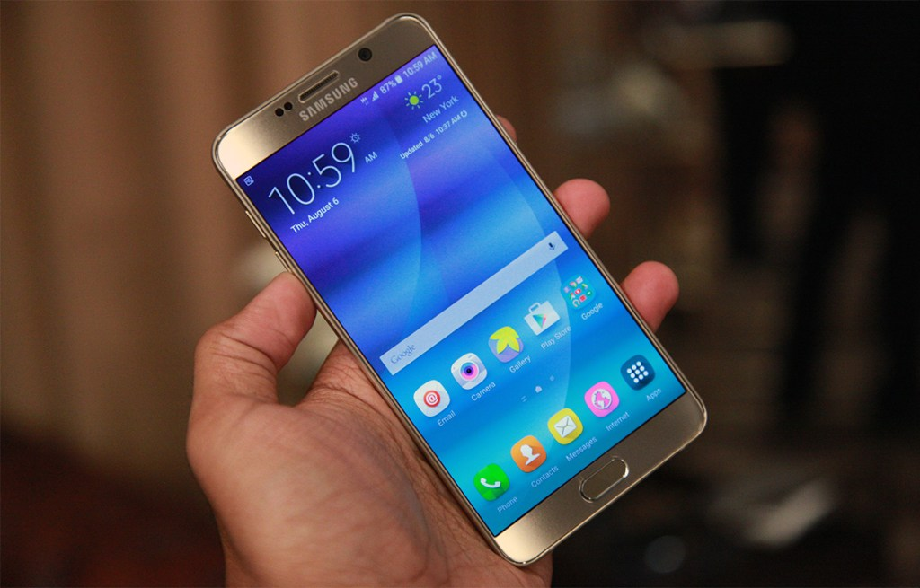 Samsung Galaxy Note Reviews - Galaxy Note 5
