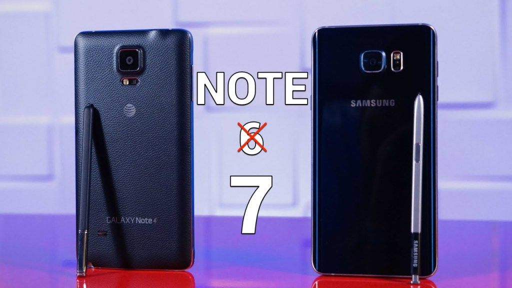 No Galaxy Note S6 - Samsung Reveals Galaxy Note 7 with a 12-MP Primary Camera