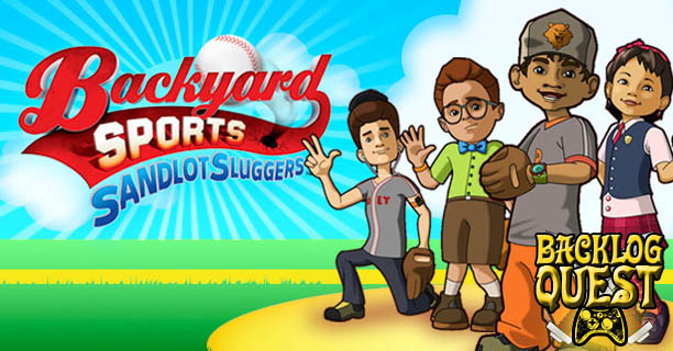 Backlog Quest: Day 19 – Backyard Sports: Sandlot Sluggers - Bob Uecker not included