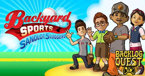 Backyard Sports Sandlot Sluggers backlog quest: day 19 – backyard sports: sandlot sluggers - bob