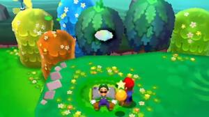 """""""Luigi, Why-a you sleep? We gotta save-uh the princess! Again!"""""""