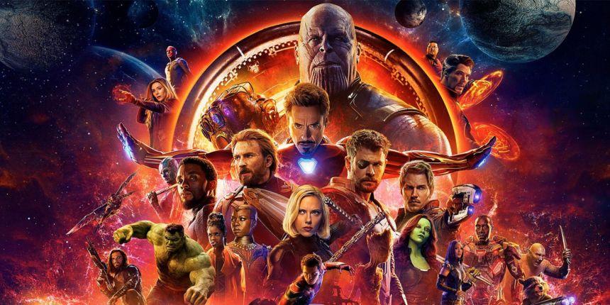 Infinity War cast poster