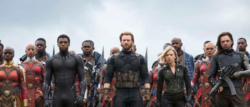 Black Panther, Black Widow and Wakanda stand ready for battle