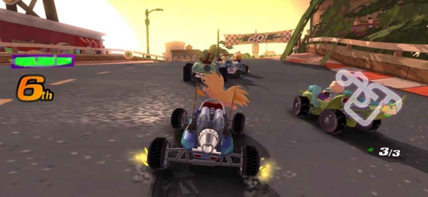 Arnold races in Nickelodeon Kart Racers