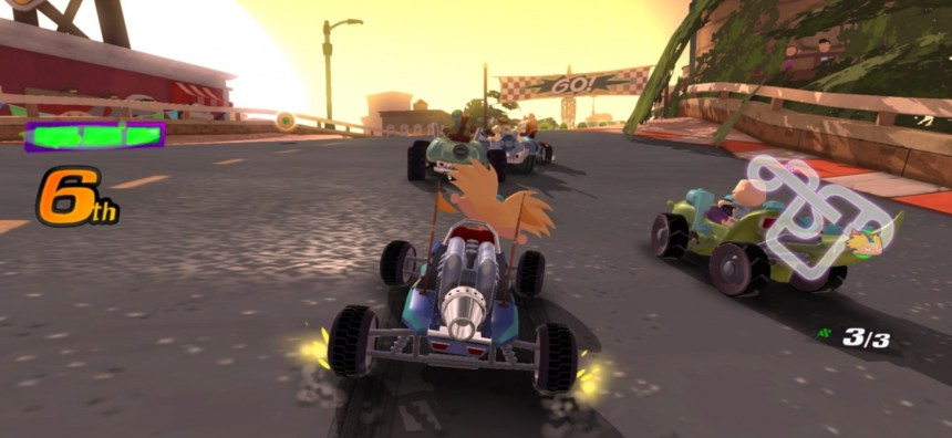 Arnold races in Nickelodeon Kart Racers