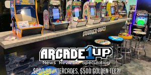 Arcade1up News: $200 Counter Cades and $500 Golden Tee?!