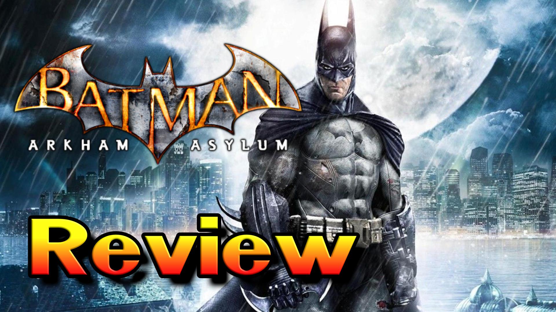 Batman: Arkham Asylum – Should We Return to Arkham? [Cade's Arcade Reviews]