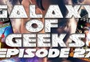 Galaxy Of Geeks Podcast Episode 27 – Halloween Special – Carl Alvarez Of Inside Metal And Doctor Strange Review