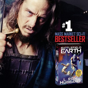 Battlefield Earth #1 Mass Market Sci-Fi Bestseller