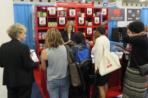 American Library Association Galaxy Booth 2015