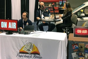 Galaxy Press on Paperback Radio at the ALA 2017