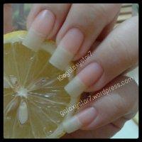 Garlic And Lemon - Natural Nail Treatment