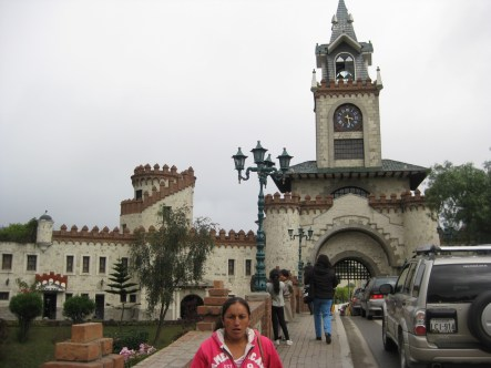Loja, town in the south, has almost a castle-like entryway. Who are they trying to keep out?