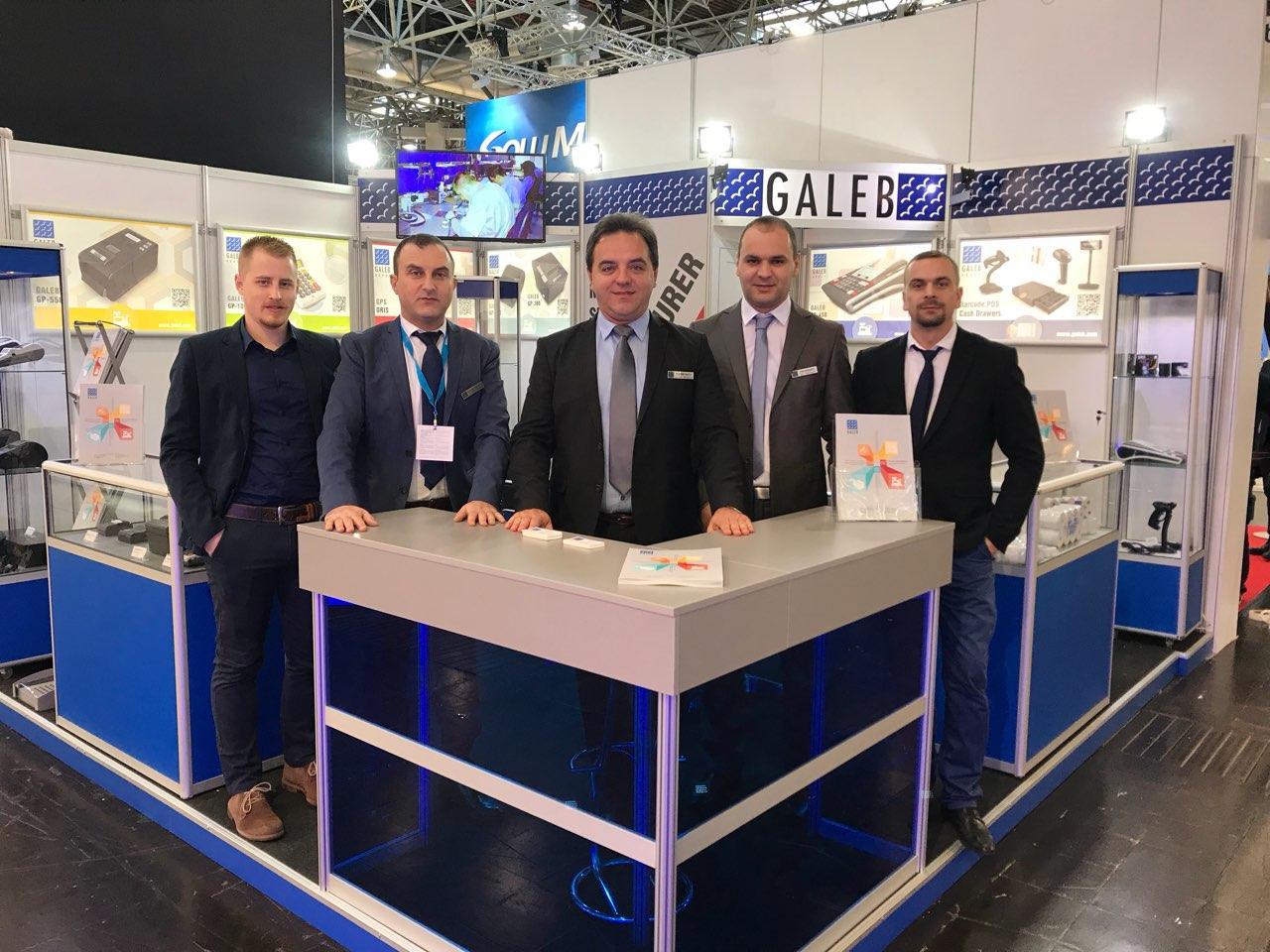 Uspešna prezentacija Galebovih proizvoda na sajmu u Nemačkoj