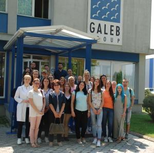 Studenti Tehnološkog fakulteta u poseti Galebu