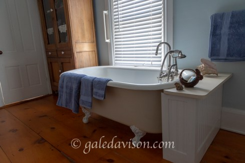 2nd Floor Claw Foot Bathtub