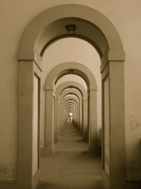 Arches, Florence, Italy