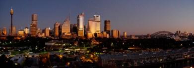 Dawn in Sydney, Australia