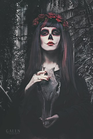 Catrina - Day of the Dead Art Print by Galen Valle
