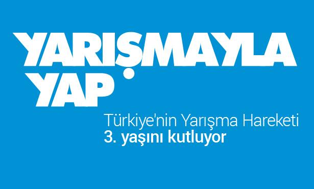 Türkiye'nin Yarışma Hareketi Yarışmayla Yap 3 Yaşında!