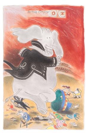 political cartoon by donald wilson