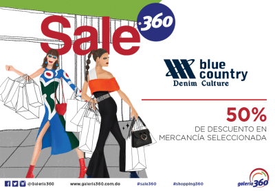 SALE BLUE COUNTRY