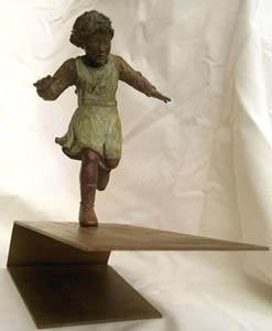 AL CIELO (escultura Lola Catalá)