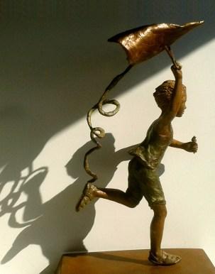 AL NORTE escultura Lola Catalá copia