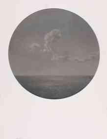 Nubes en alta mar II-O-P-42cms.Diametro
