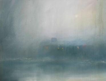 El Transito del tiempo Acrílico -Tela, 60 x 80 cm