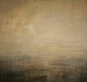 Luz melodiosa Acrílico-Tela, 70 x 70 cm