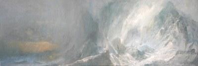 Nevada Acrílico - Tela, 30 x 90 cm -