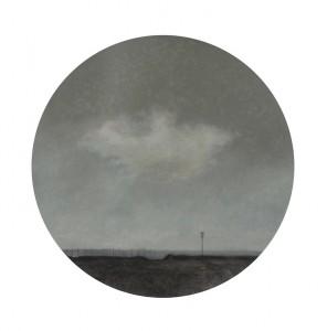 María Escalona - La nube - Pastel - 59 cm diametro