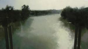 Paisaje sereno, P.R 75 (60x116)