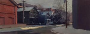 Amanecer Helado II 40x100 Boston Massachussets