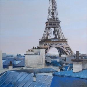 Paris 50x50cm