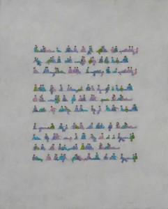 Tercetos encadenados 122x98