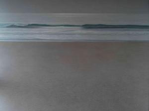 El mar escucha como un sordo... 200x150cm oleo-lienzo