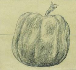 Massimo Catalani, Lucia, 1999, carboncillo sobre papel, 28 x 30 cm