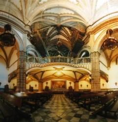 26.- Luis Fernando Salazar, Real Monasterio de Santa María, Fotografía, 99 x 99 cm