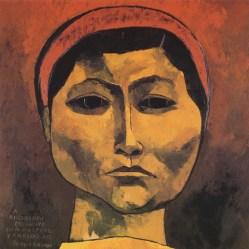 4.- Oswaldo Guayasamín, Rigoberta Menchu