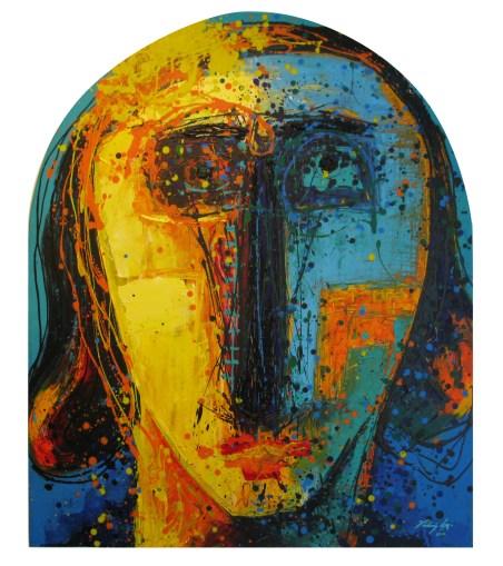 Vladimir Cora, Alica, 2014, acrílico sobre tela, 120 x 100 cm